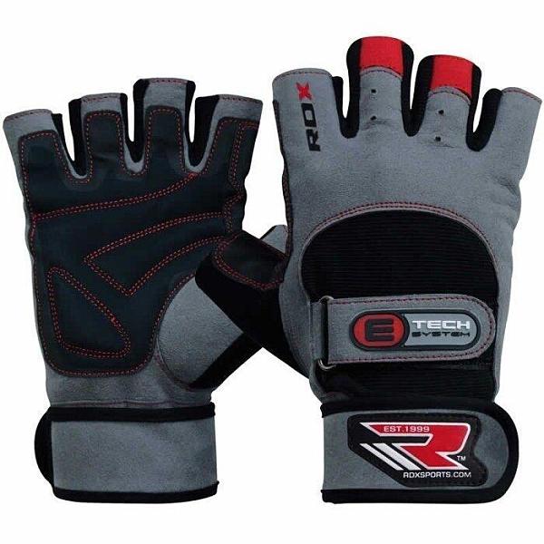 『VENUM旗艦館』RDX 英國 WGA-L2G 重訓健身訓練手套 雙固定手背護腕掌面全防護  經典手套 尺碼 XL