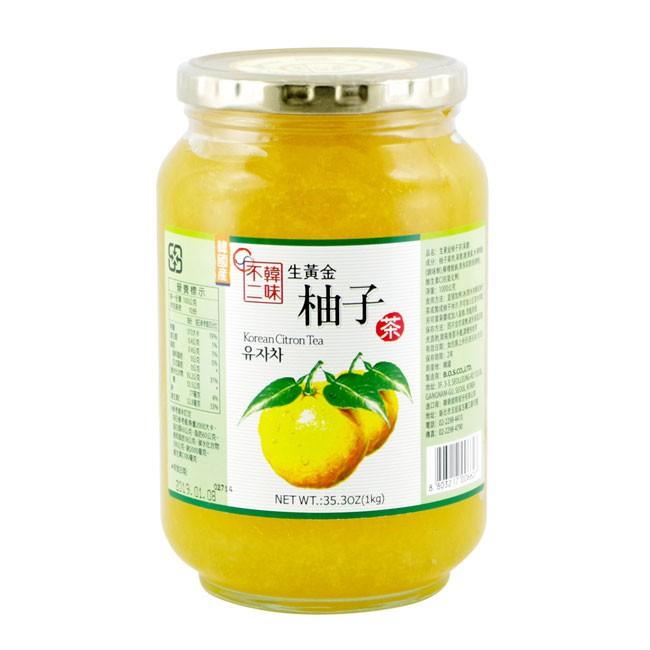 好市多 costco 韓味不二 生黃金柚子茶 1000g (單罐)【Suny Buy】