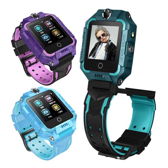 [活動]CW-20 Plus 4G雙鏡頭防水兒童智慧手錶 台灣繁體中文版+LINE紫色