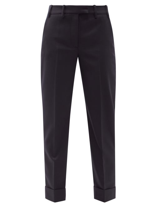 Cefinn - Clement Slim-leg Trousers - Womens - Navy