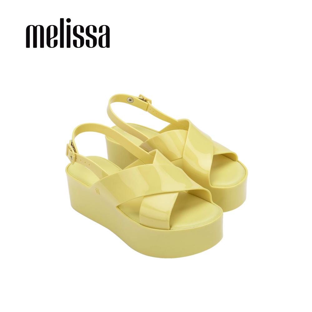 【Women】ESSENTIAL 厚底交寬帶叉造型涼鞋-黃(3294650866)