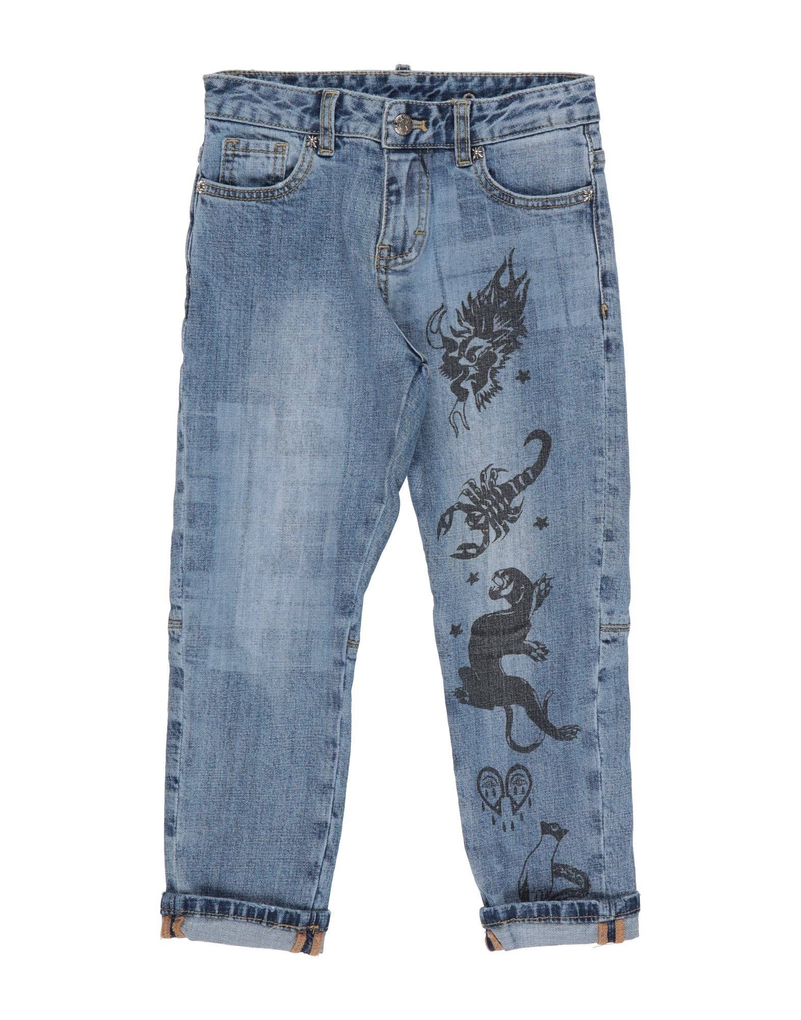 JOHN RICHMOND Denim pants - Item 42813919