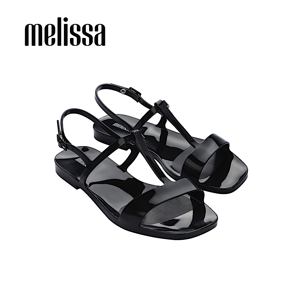 【Women】ESSENTIAL 時尚簡約T字涼鞋 -黑(3295101003)