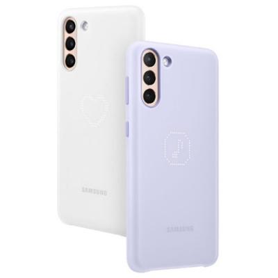 Samsung Galaxy S21+ 原廠LED 智能背蓋【紫】