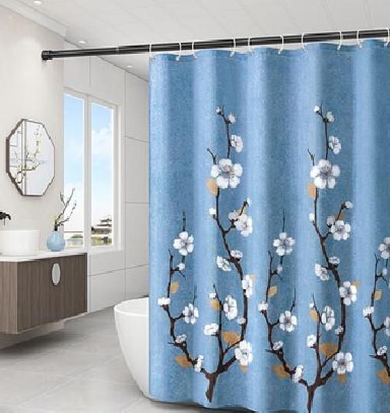 門簾 洗澡浴簾浴室免打孔衛生間門簾子淋浴房隔斷簾防水布掛簾洗浴加厚