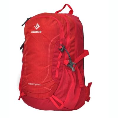 迪伯特DIBOTE 輕便攻頂登山包/短程登山背包/攻頂包-32L(紅) -快速到貨