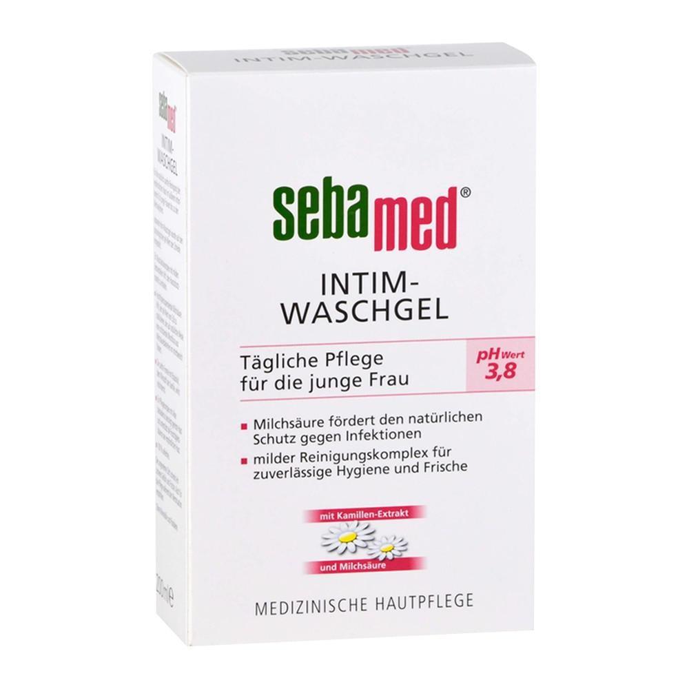 德國 Sebamed 施巴 pH3.8 女性私密處護潔露 (一般型) 200ml