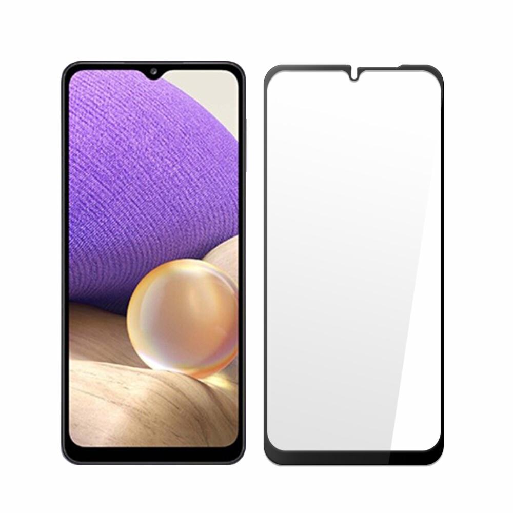 samsung galaxy a32 5g(6.5吋)全膠滿版亮面日規鋼化玻璃保護貼