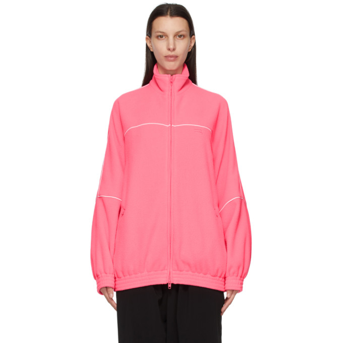Balenciaga 粉色 Double-Brushed 运动夹克