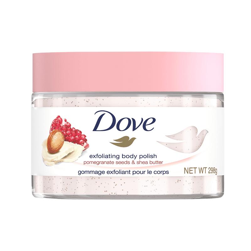 【Dove 多芬】多芬去角質身體磨砂膏組(夏威夷果油與米萃/奇異果籽與蘆薈)(2 瓶)