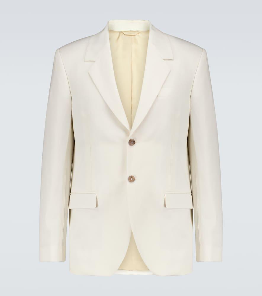 Jellico cotton-linen blazer