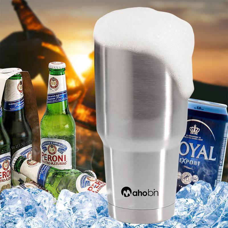 Mahobin魔法瓶不鏽鋼雙層保溫酷冰杯