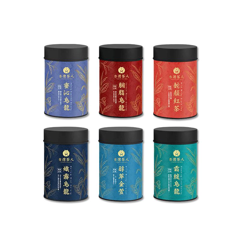 【台灣茶人】茶語日常-熾霧烏龍(罐裝2兩)