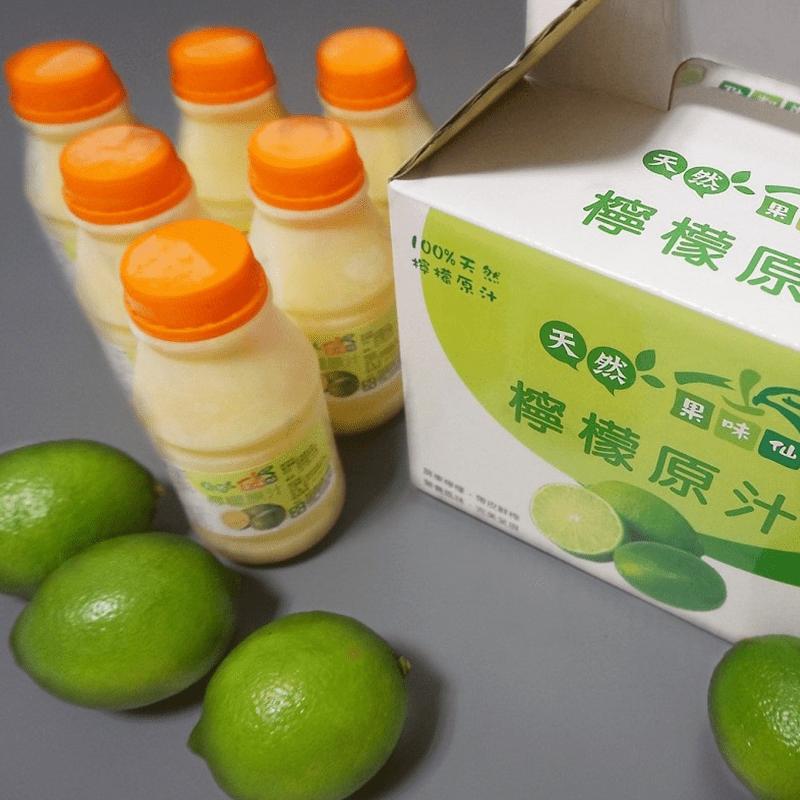 百分百台灣正港檸檬原汁(6 罐)