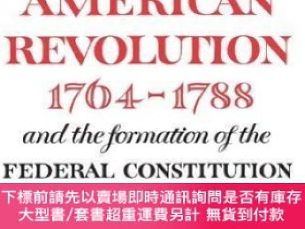 二手書博民逛書店Sources罕見and Documents Illustrating the American Revoluti