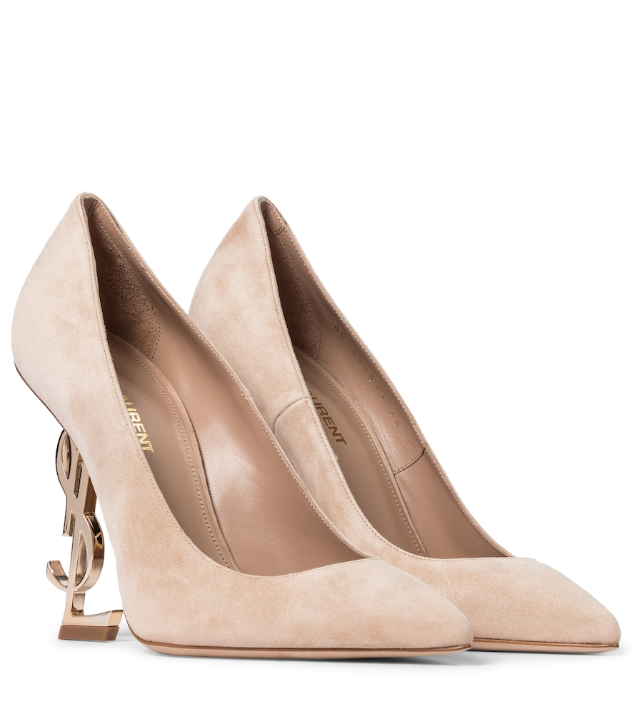 Opyum 110 suede pumps