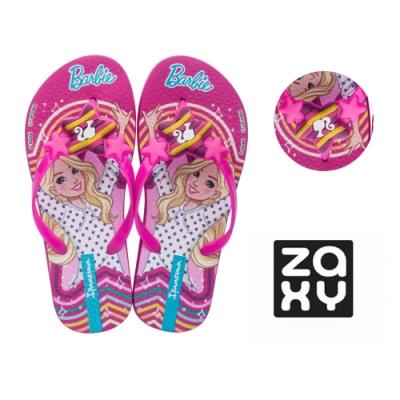 Zaxy 星星印花夾腳拖鞋 兒童款 -粉