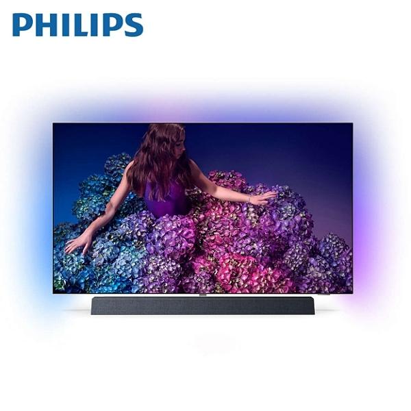 PHILIPS 飛利浦 55型 4K OLED HDR聯網顯示器 55OLED934