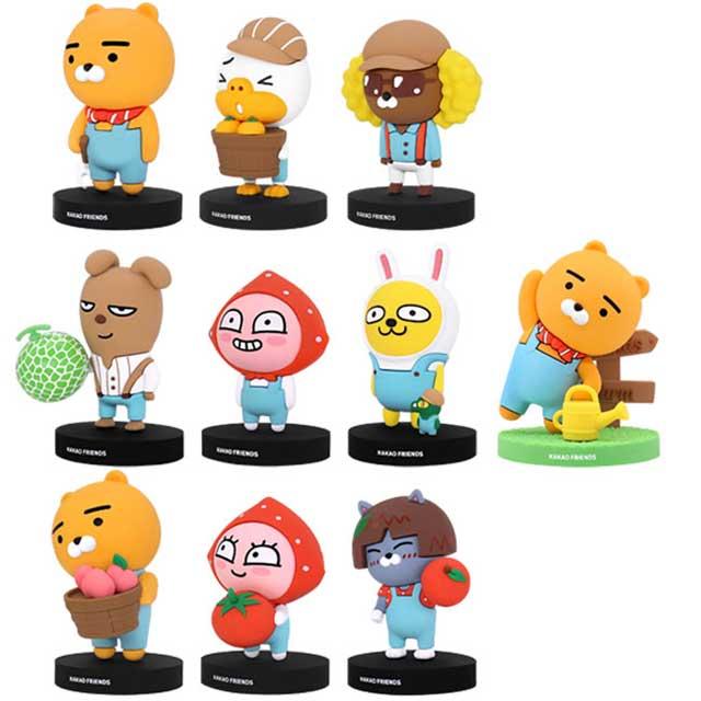 GARMMA KAKAO FRIENDS 農場系列 盒玩公仔(一套9隻不重複)