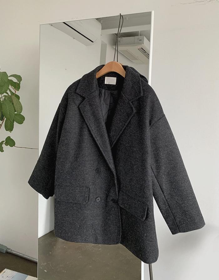 韓國空運 - Horing Nubim Half Coat 大衣外套