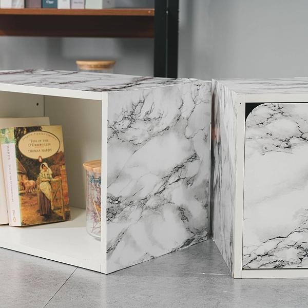 威瑪索 加厚防水大理石紋壁貼60X300cm-爵士白 DIY裝修裝潢壁貼 牆貼自黏壁紙 家具翻新