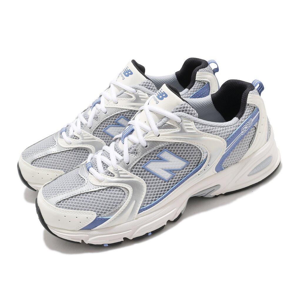 NEW BALANCE 慢跑鞋 530 復古 潮流 運動 男女鞋 紐巴倫 舒適 避震 透氣 情侶穿搭 灰 藍 [MR530KCD]
