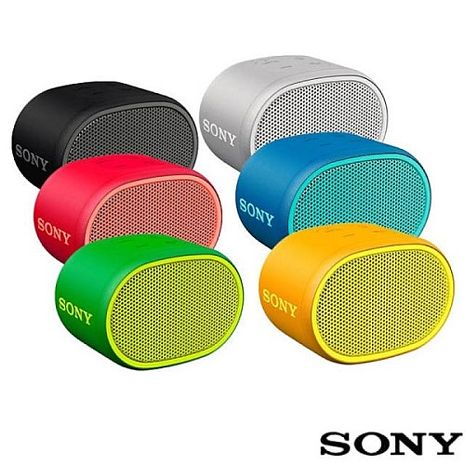 SONY EXTRA BASS 重低音防水攜帶型藍芽喇叭 SRS-XB01 六小時電池續航力 音樂輕巧