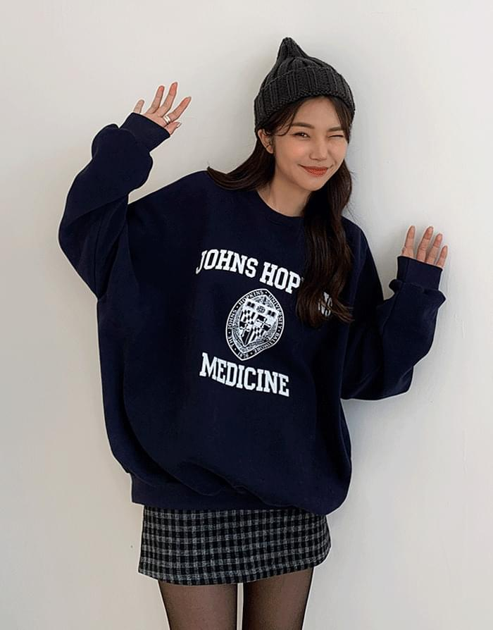 韓國空運 - Jones Woolen Sweatshirt 長袖上衣