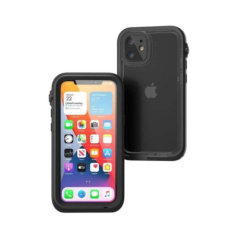 """Apple iPhone12 Pro (6.1"""") 3顆鏡頭 IP68防水軍規防震防泥超強保護殼 - 黑/灰"""
