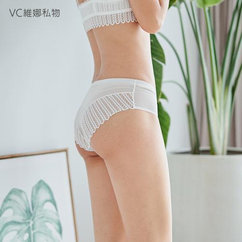 蕾絲透膚網紗款-白色VC維娜私物*任選三件499元*3619013738