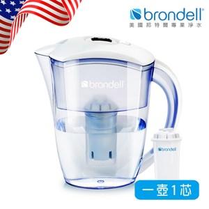 【Brondell】美國邦特爾極淨白濾水壺