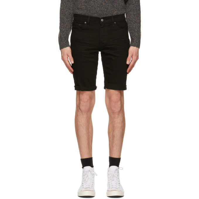 Levis 黑色 511 Slim Cut-Off 短裤
