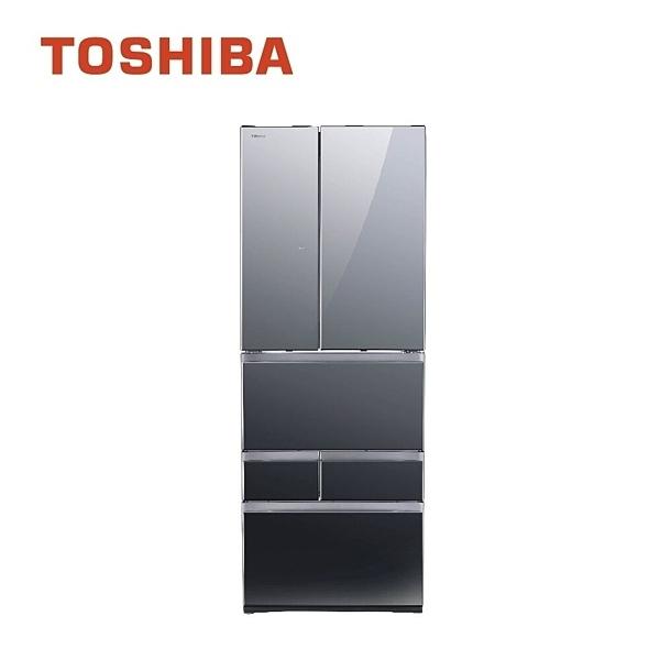 (留言折扣優惠)【TOSHIBA東芝】601L玻璃六門變頻冰箱GR-ZP600TFW(含基本安裝+舊機處理)