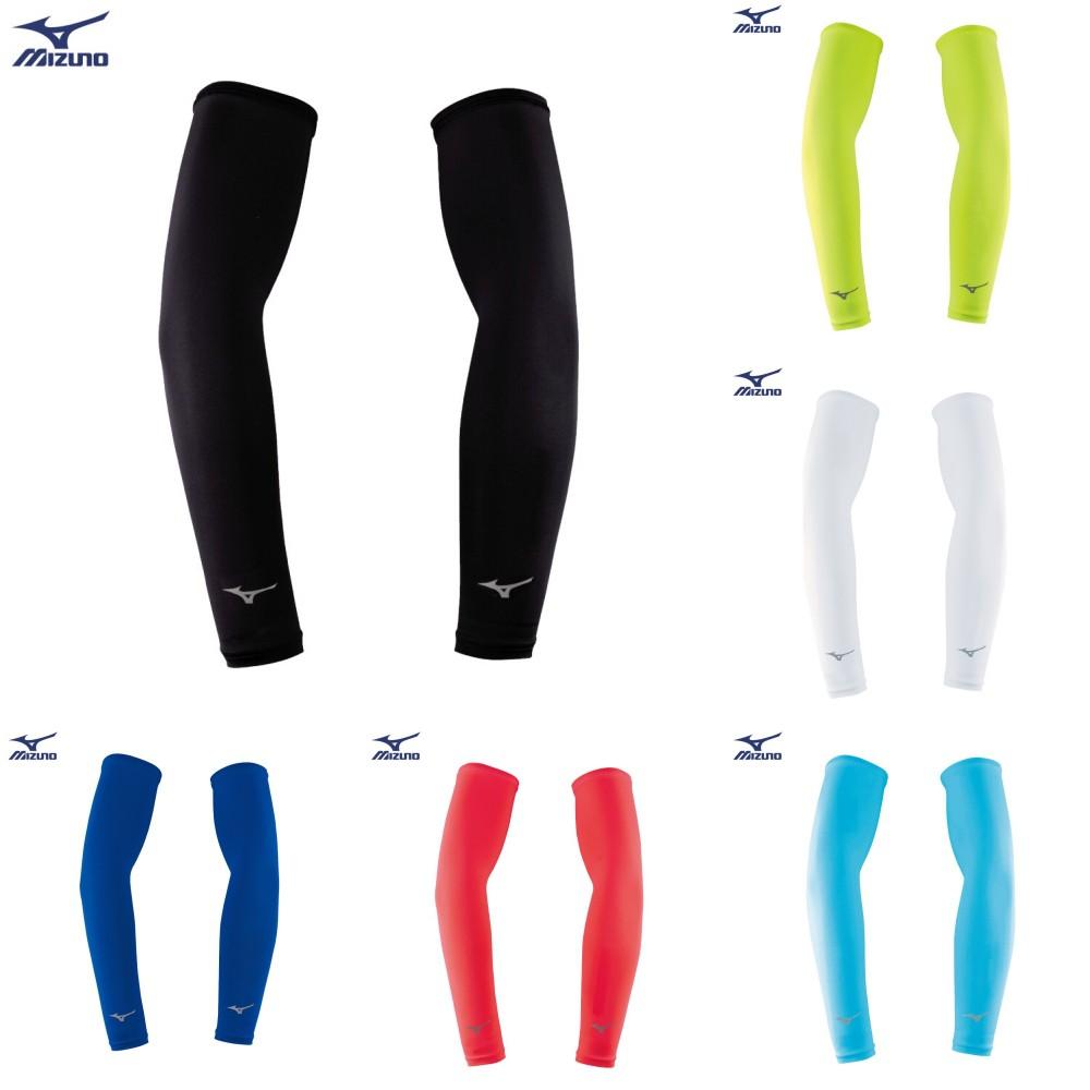 MIZUNO 運動袖套 防曬袖套 自行車臂套 反光跑步臂套 抗紫外線 UPF50 32TY8G01系列 20SSO