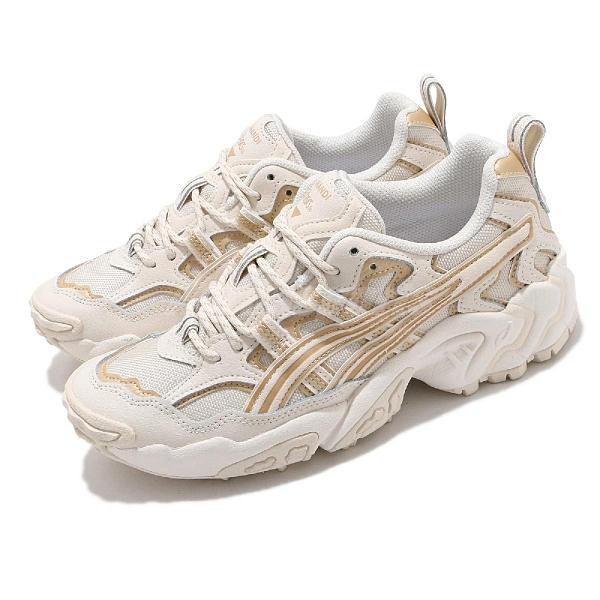 Asics 越野跑鞋 Gel-Nandi 女鞋 米色 山系 老爹鞋 休閒鞋 AT【ACS】 1202A120201