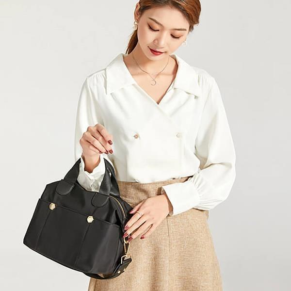 【南紡購物中心】夏日時光--水餃包OL公事包側背包提包女包包