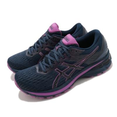 Asics 慢跑鞋 GT-2000 9 Lite-Show 女鞋 亞瑟士 反光 運動 支撐型 緩震 藍 紫 1012B004400