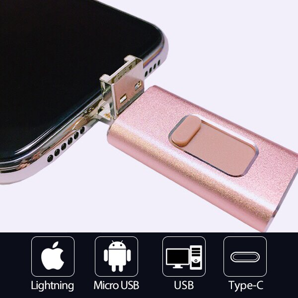 四合一 手機 電腦 通用 隨身碟 iPhone 12 i12 Pro Max iPad USB 安卓 Type-C PD 口袋相簿 OTG 11 Pro Max i11 XR XS i8 A8 『無名