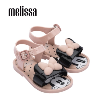 Melissa x MICKEY AND FRIENDS米妮造型涼鞋 寶寶款-粉