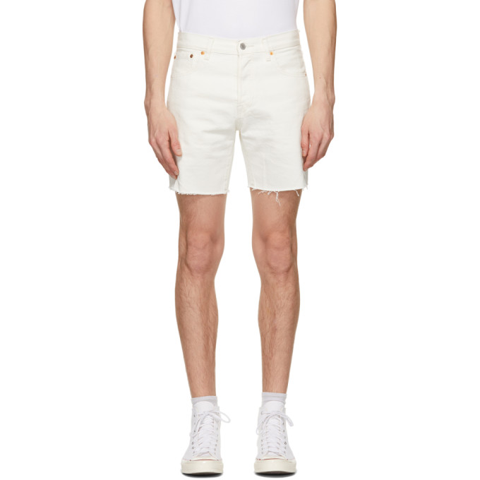 Levis 白色 501 93 Cut-Off 短裤