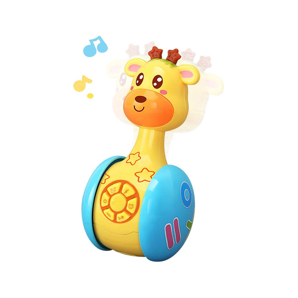 不倒翁 益智玩具 早教學習聲光滑行不倒翁玩具-ylb2616