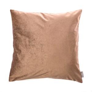 HOLA 素色星悅雙色抱枕60x60摩卡色