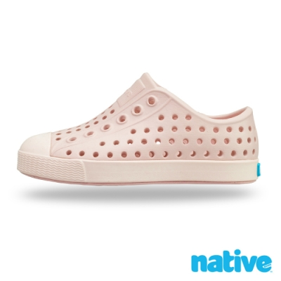 native 大童鞋 JEFFERSON 小奶油頭鞋-骯髒粉