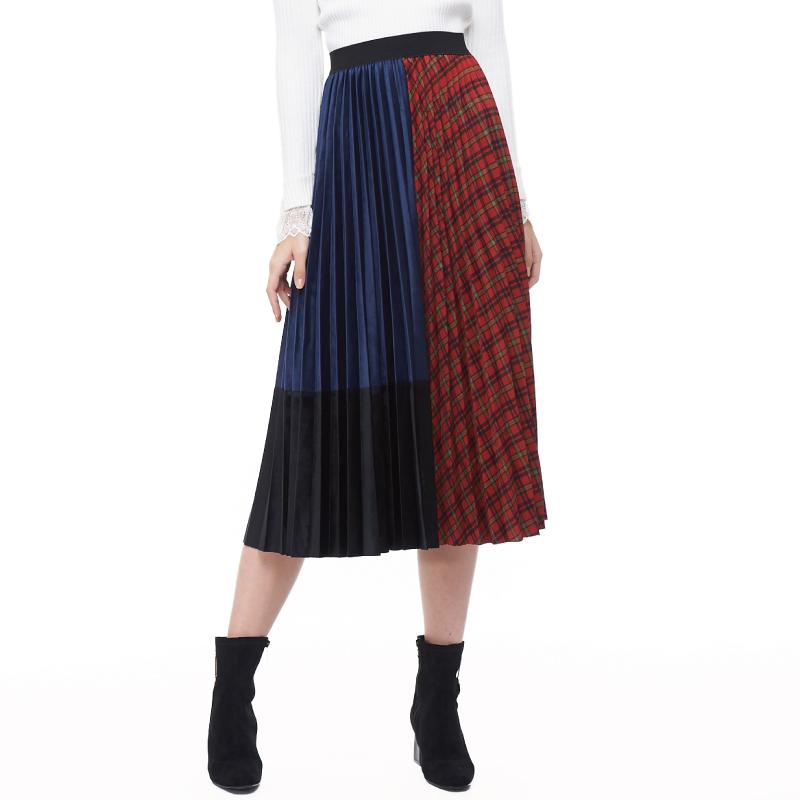 HS 蘇格蘭多樣裙 格紋紅