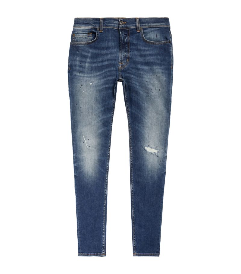 7 For All Mankind Ronnie Tapered Stretch Tek Jeans