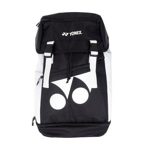 Yonex Bag [BAG32010TR007] 後背包 兩用 方頭 獨立鞋袋 防潑水 側邊口袋 羽拍袋 黑