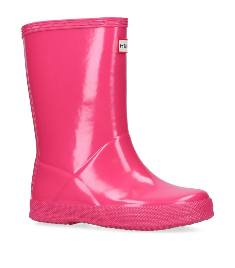 Hunter Kids First Classic Gloss Wellington Boots