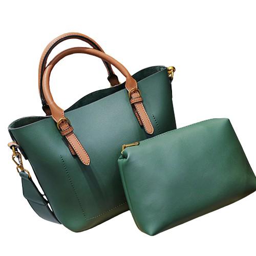2件/套時尚女包皮草球單肩包休閒旅行手提包 潮可 上新 潮可 新品