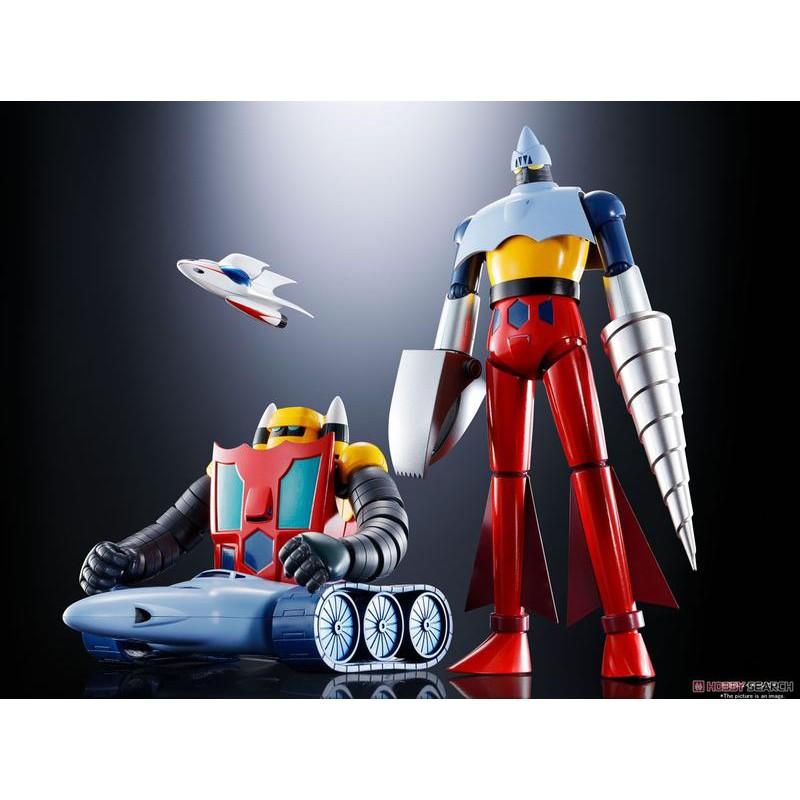 [代理貨 BANDAI 可動]超合金魂 GX-91 蓋特機器人二號&三號機 蓋特2&3 D.C.