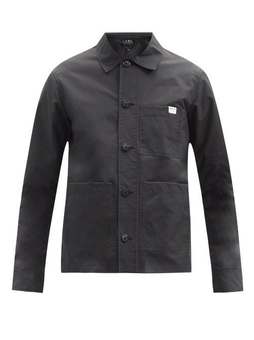 A.P.C. - Nathaniel Ripstop Jacket - Mens - Black